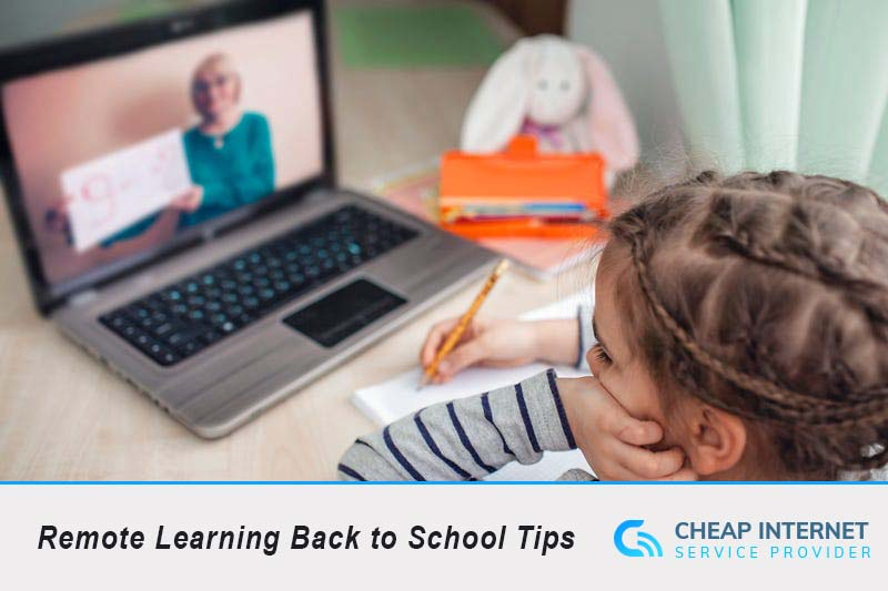 Remote Learning Back to School Tips